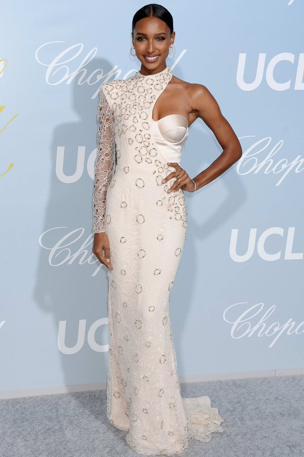 Jasmine Tookes attends the Hollywood for Science Gala in Los Angeles