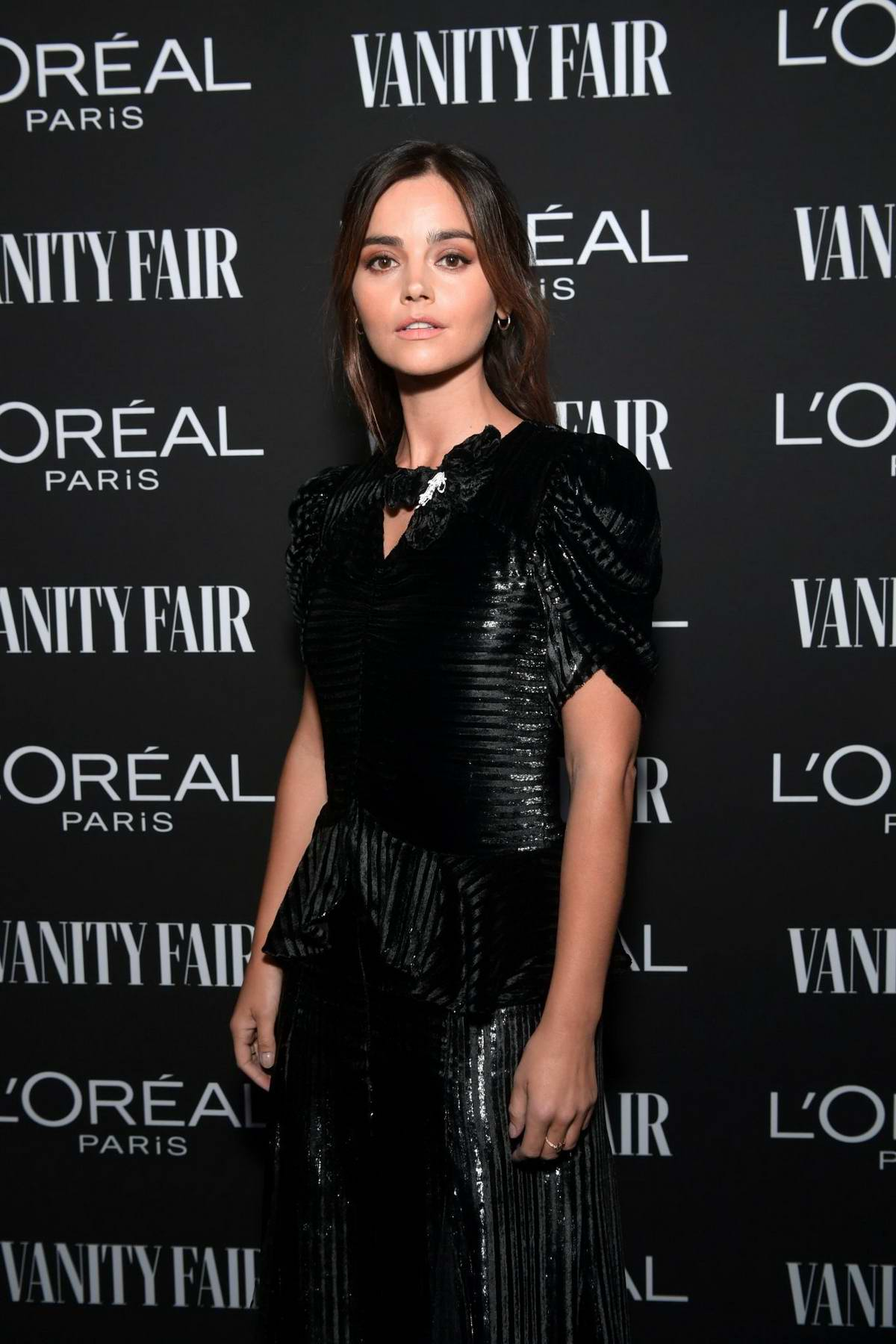 Jenna Coleman attends the Vanity Fair and L'Oréal Paris Celebrate New Hollywood in Los Angeles