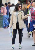 Jenna Dewan and boyfriend Steve Kazee take her daughter to Disneyland in Anaheim, California