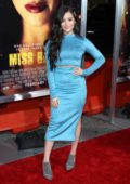 Jenna Ortega attends the premiere of 'Miss Bala' at Regal LA Live Theatre in Los Angeles