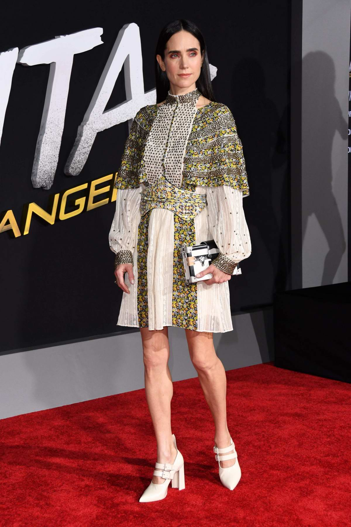 Jennifer Connelly attends the World Premiere of 'Alita: Battle Angel' at Westwood Regency Theater in Los Angeles
