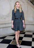 Jennifer Lawrence attends the Christian Dior show during Paris Fashion Week Womenswear Fall/Winter 2019/2020 in Paris, France