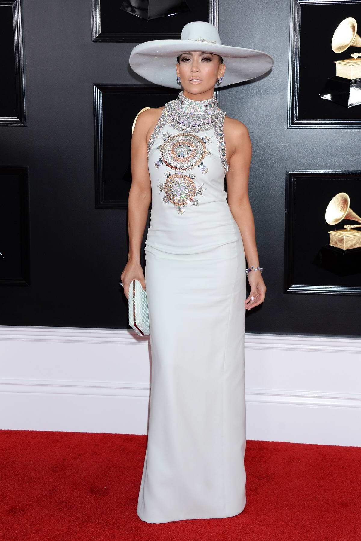 Jennifer Lopez attends the 61st Annual GRAMMY Awards (2019 GRAMMYs) at Staples Center in Los Angeles