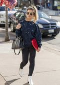 Jessie James Decker spotted with some Valentine`s Day balloons in Nashville, Tennessee