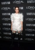 Josephine Langford attends the Vanity Fair and L'Oréal Paris Celebrate New Hollywood in Los Angeles