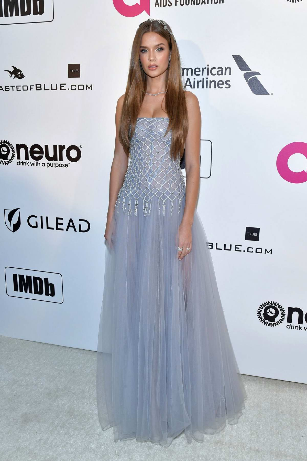 Josephine Skriver attends the 27th Annual Elton John AIDS Foundation Academy Awards Viewing Party in West Hollywood, Los Angeles