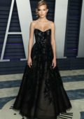 Josephine Skriver attends the Vanity Fair Oscar Party at Wallis Annenberg Center for the Performing Arts in Beverly Hills, California