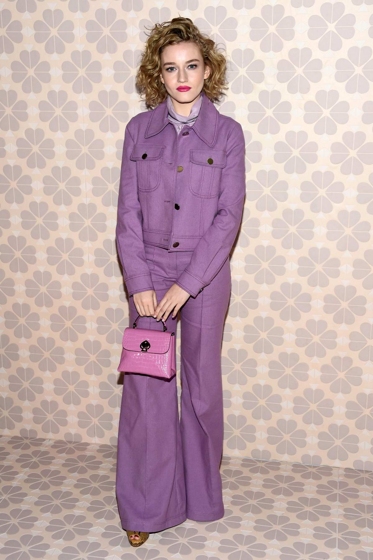 Julia Garner attends Kate Spade Fall/Winter 2019 Fashion Show during New York Fashion Week at Cipriani 25 Broadway in New York City