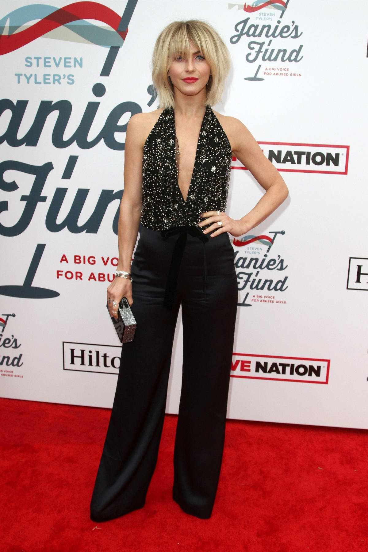 Julianne Hough attends the Steven Tyler's Grammy Awards Viewing Party To Benefit Janie's Fund in Hollywood, California