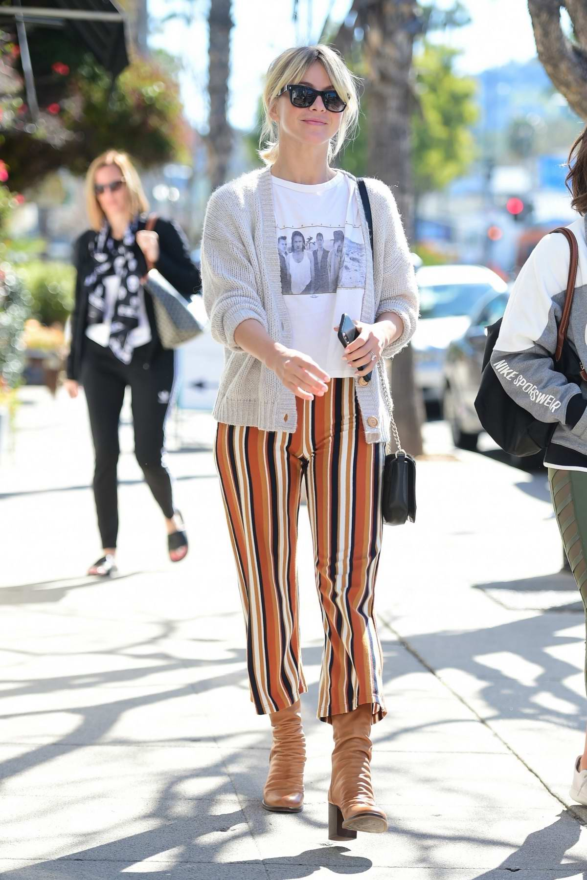 Julianne Hough rocks a casual but trendy look while out at Joan's On Third in Studio City, Los Angeles