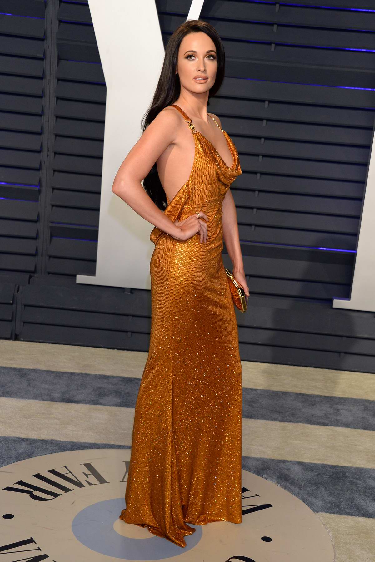 Kacey Musgraves attends the Vanity Fair Oscar Party at Wallis Annenberg Center for the Performing Arts in Beverly Hills, California