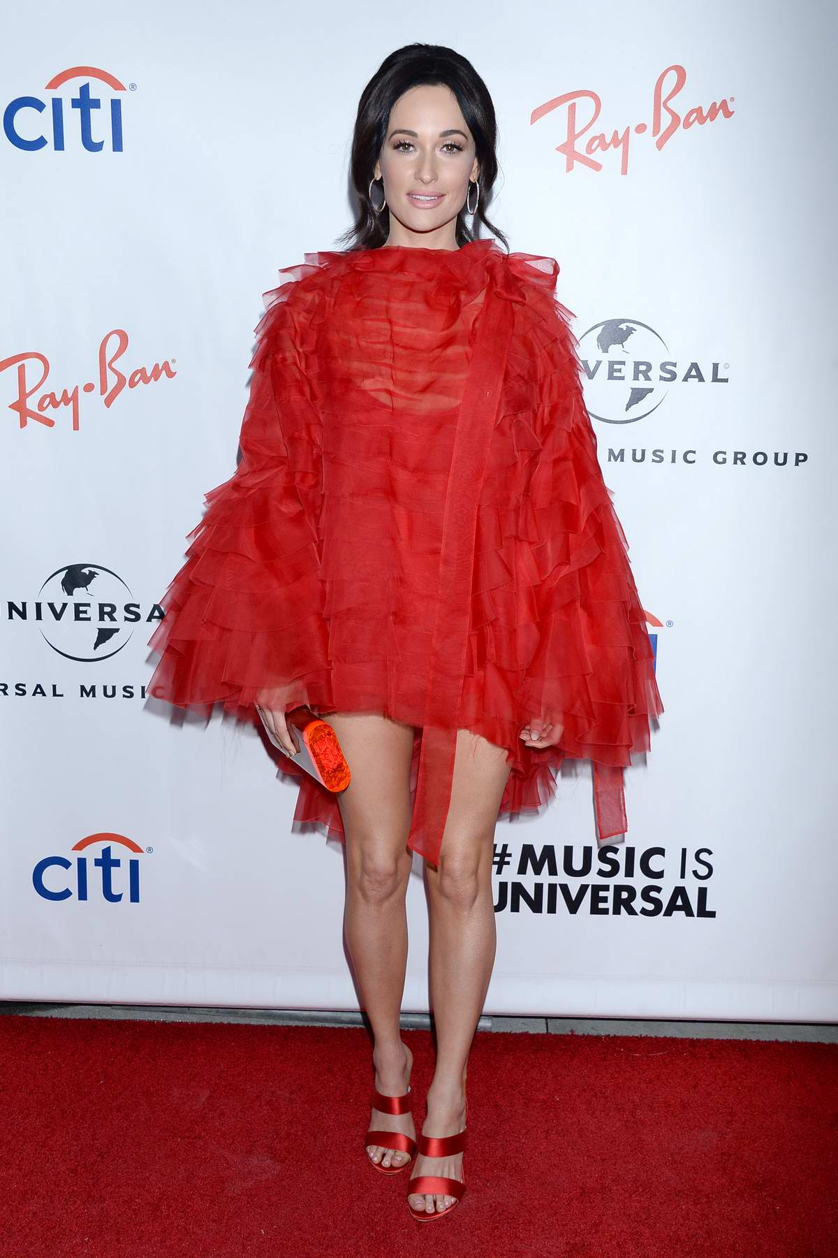 Kacey Musgraves attends Universal's Grammys 2019 After Party at The Row in Los Angeles