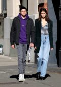 Kaia Gerber and Presley Gerber are all smiles while out in New York City