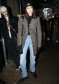 Kaia Gerber attends the Coach fashion show during New York Fashion Week in New York City
