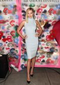 Karlie Kloss attends Brandon Maxwell show during New York Fashion Week in New York City
