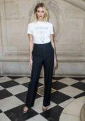 Karlie Kloss attends the Christian Dior show during Paris Fashion Week Womenswear Fall/Winter 2019/2020 in Paris, France