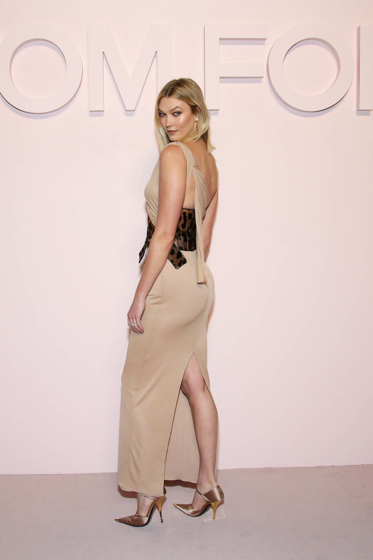 Karlie Kloss attends Tom Ford Fashion Show in New York City