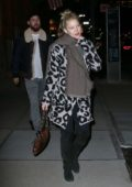 Kate Hudson and Danny Fujikawa heads for a night out as they leave The Greenwich Hotel in New York City