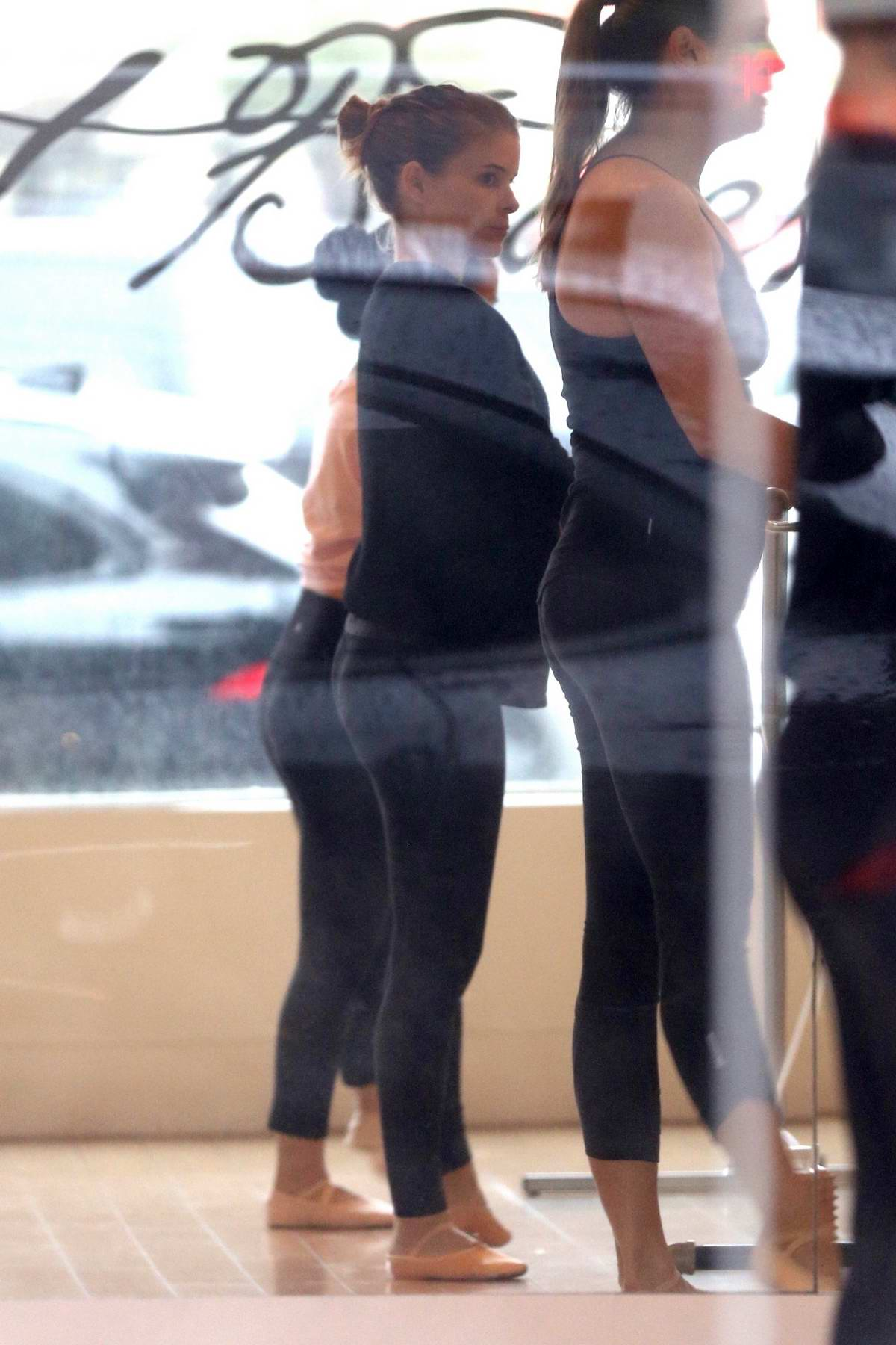 Kate Mara seen during her ballet class at Ballet Bodies in Los Angeles