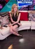 Katherine McNamara visits Young Hollywood Studio in Los Angeles