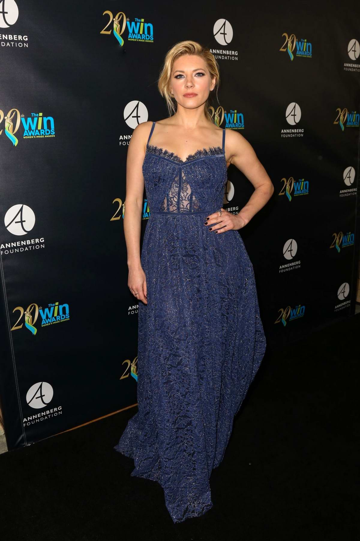 Katheryn Winnick attends the 20th Annual Women's Image Awards at Montage Beverly Hills in Beverly Hills, Los Angeles