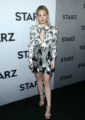 Kelli Berglund attends the STARZ TCA Red Carpet Event at 71Above in Los Angeles