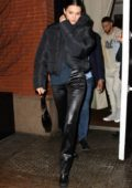 Kendall Jenner and Ben Simmons steps out for a dinner date in New York City