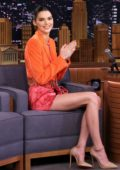 Kendall Jenner makes an appearance on The Tonight Show Starring Jimmy Fallon' in New York City