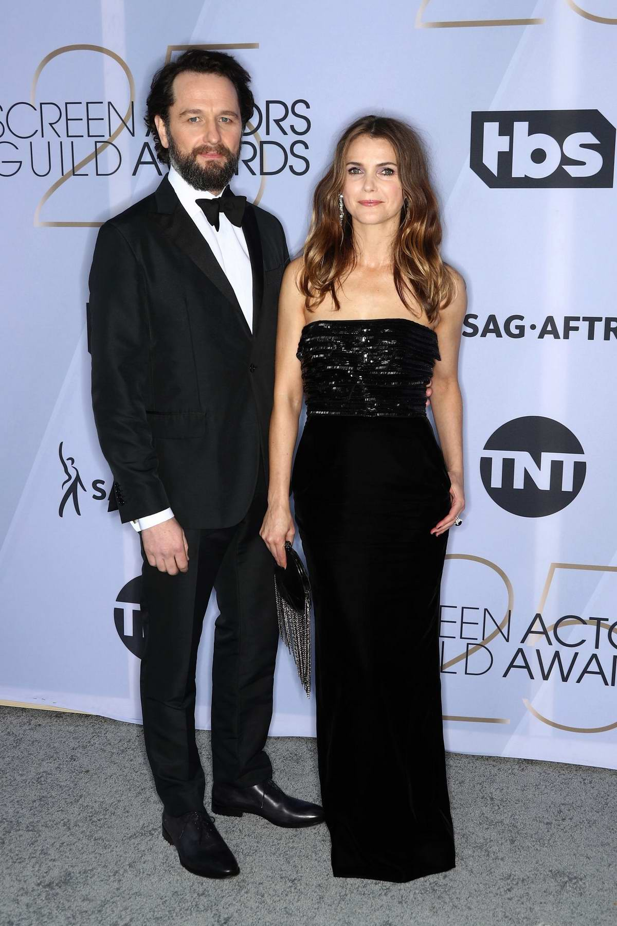 Keri Russell attends the 25th Annual Screen Actors Guild Awards (SAG 2019) at the Shrine Auditorium in Los Angeles