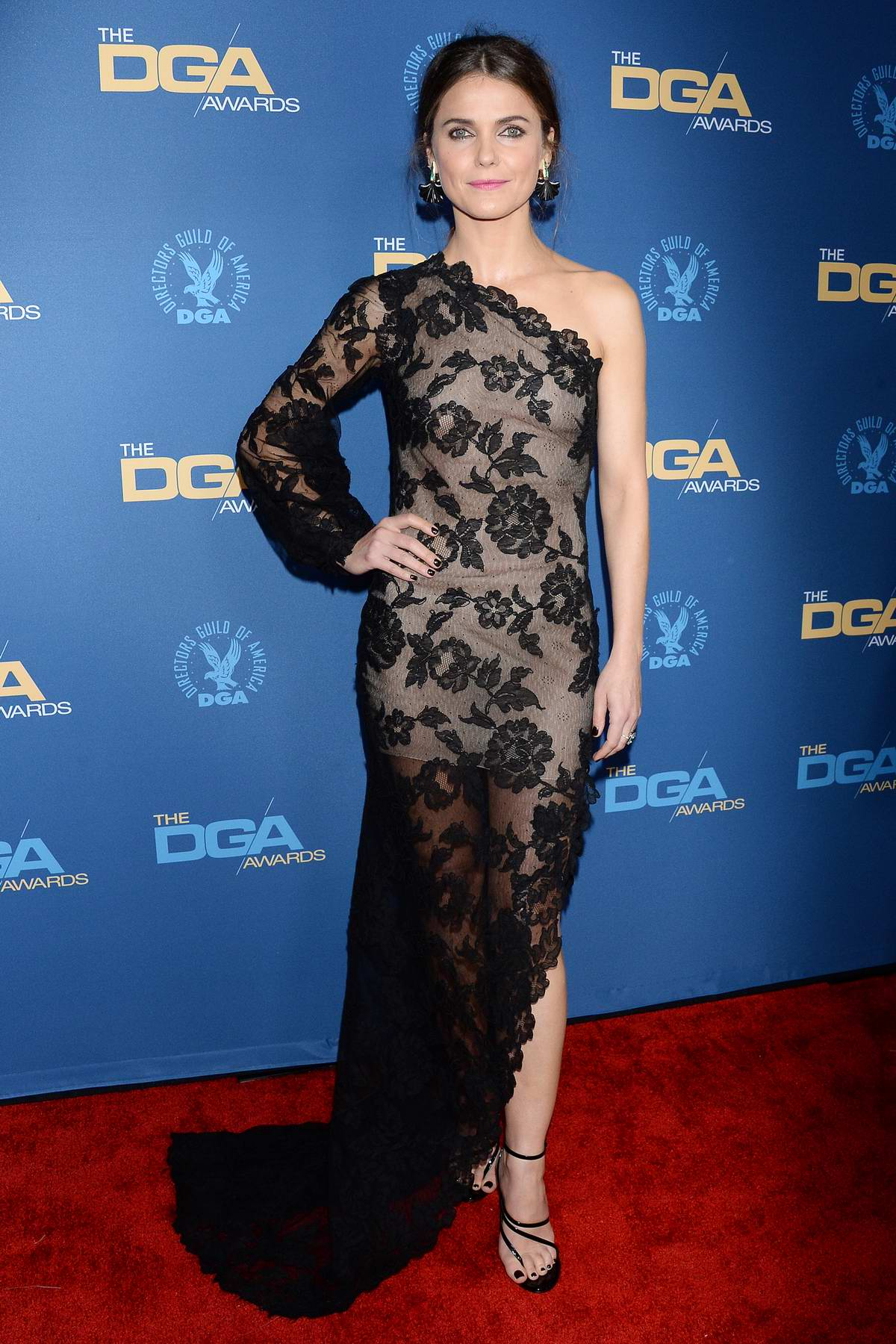 Keri Russell attends the 71st Annual Directors Guild Of America Awards in Hollywood, California