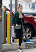 Kiernan Shipka seen while running errands in Silver Lake, Los Angeles