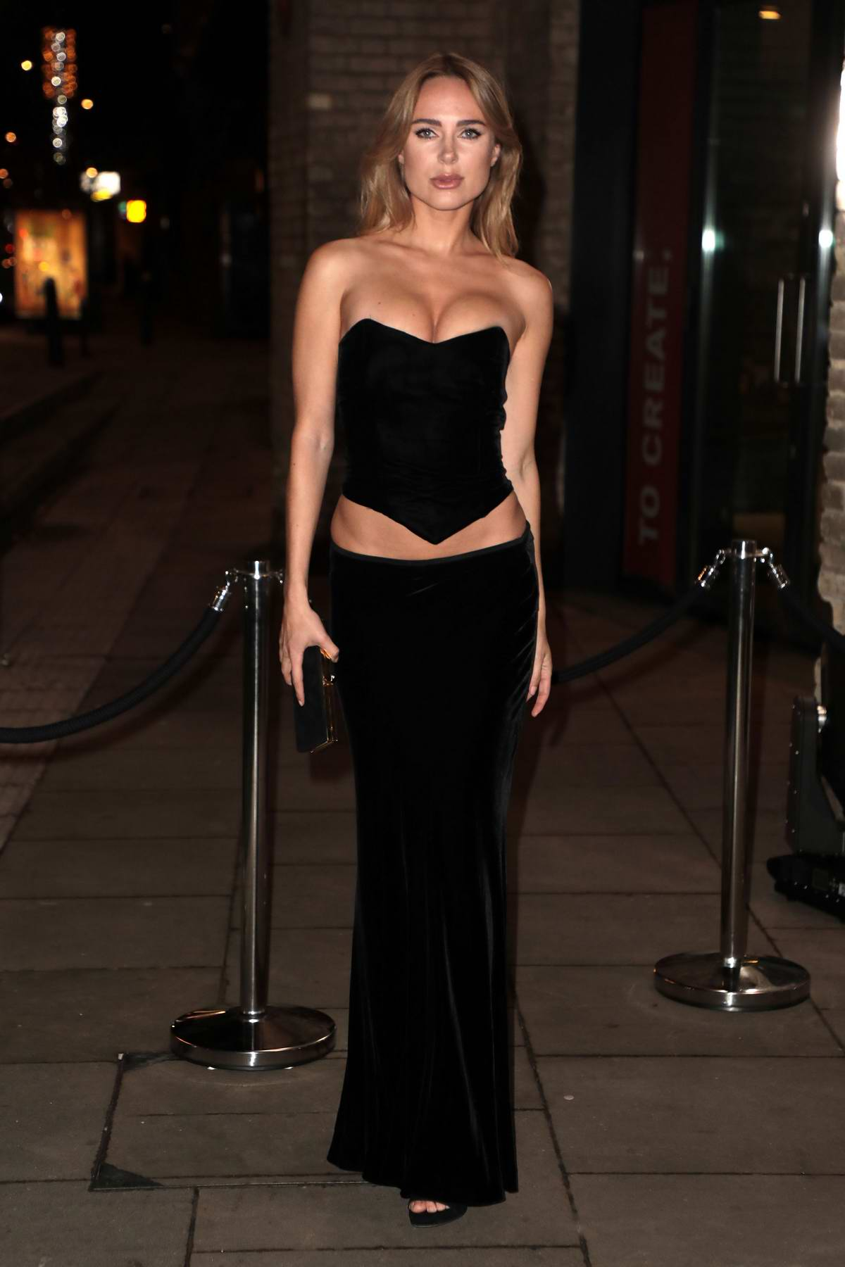 Kimberley Garner attends the Naked Heart Foundation Fabulous Fund Fair during London Fashion Week in London, UK