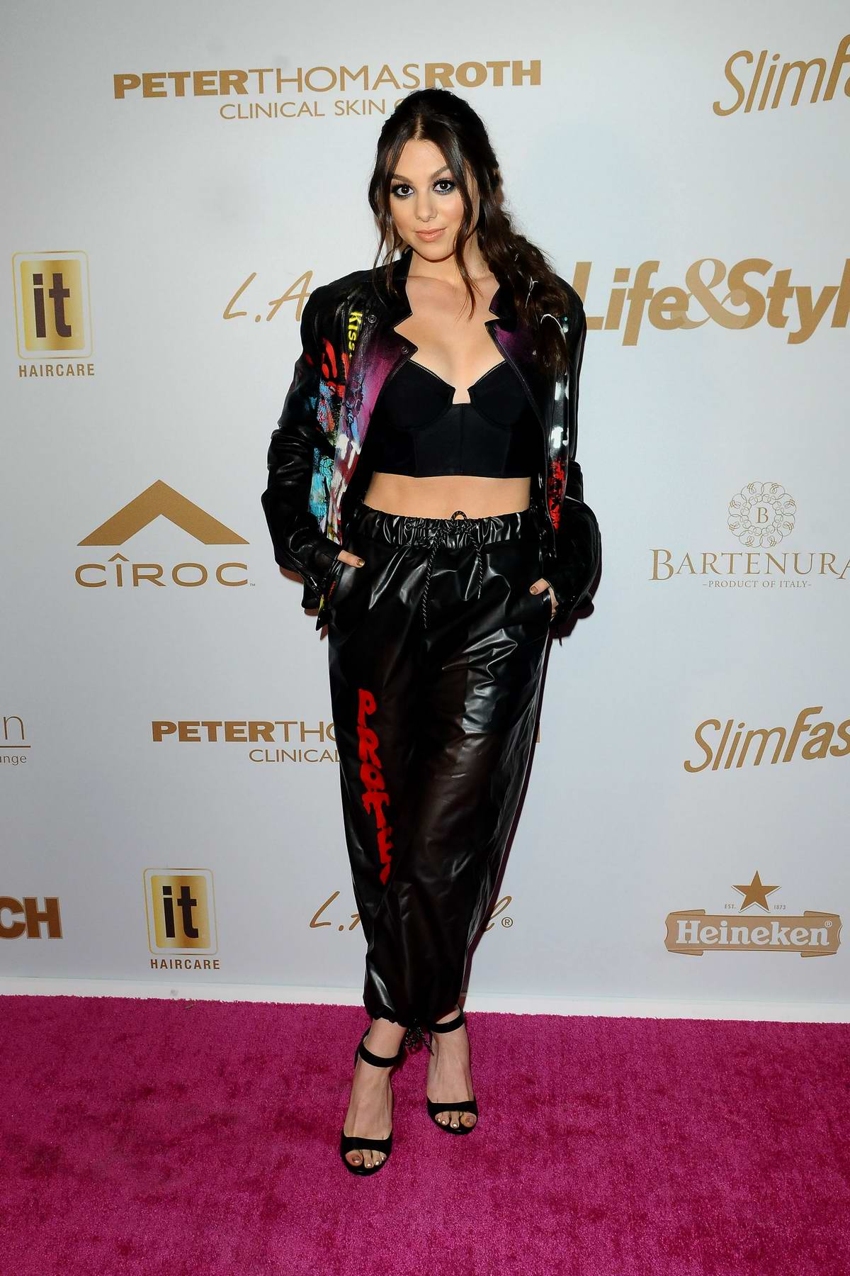 Kira Kosarin attends the Pre-Grammys Party Presented by OK! Star InTouch Life&Style at Liaison in Los Angeles