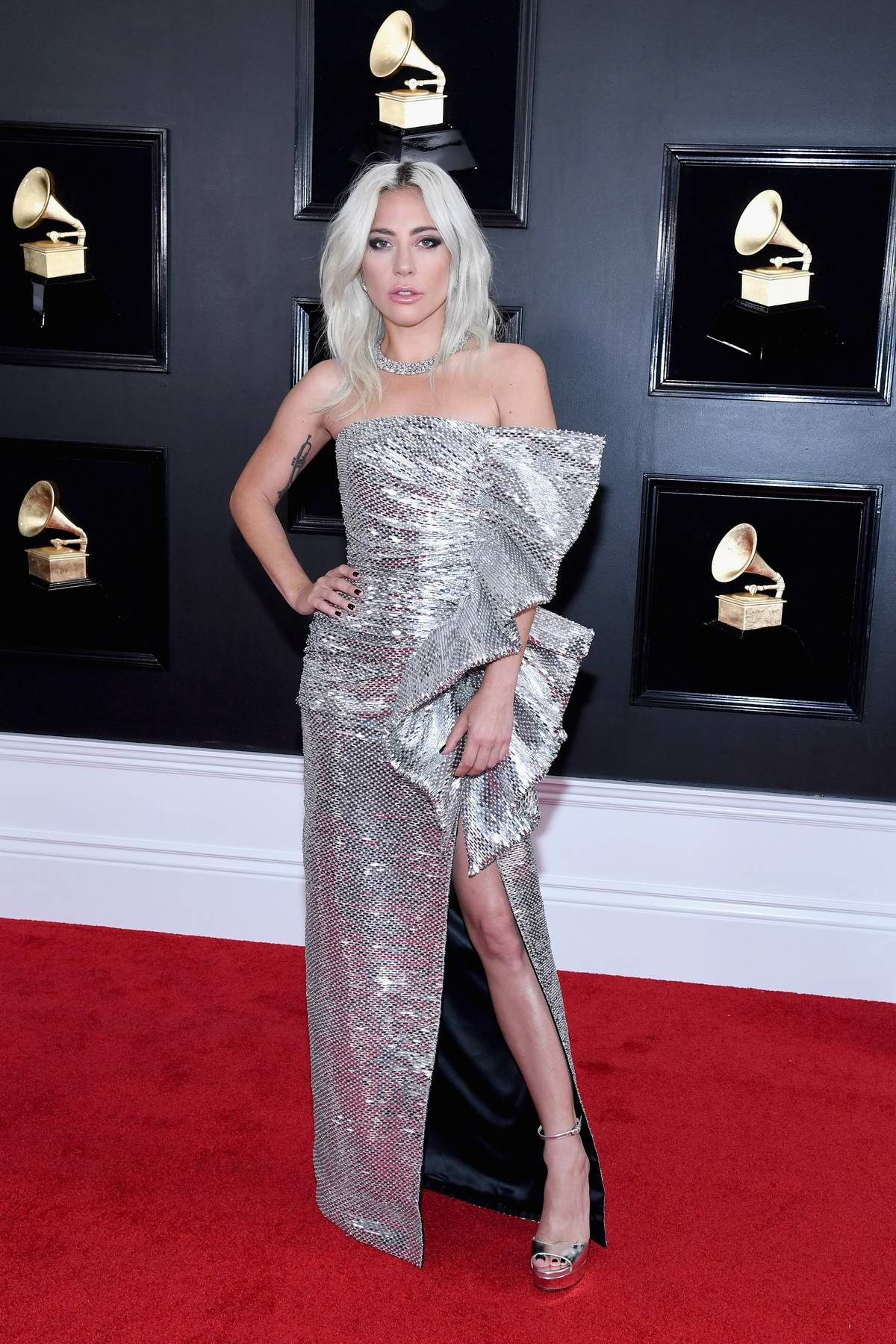 lady gaga attends the 61st annual grammy awards (2019 ...