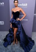 Lais Ribeiro attends amfAR New York Gala 2019 at Cipriani Wall Street in New York City