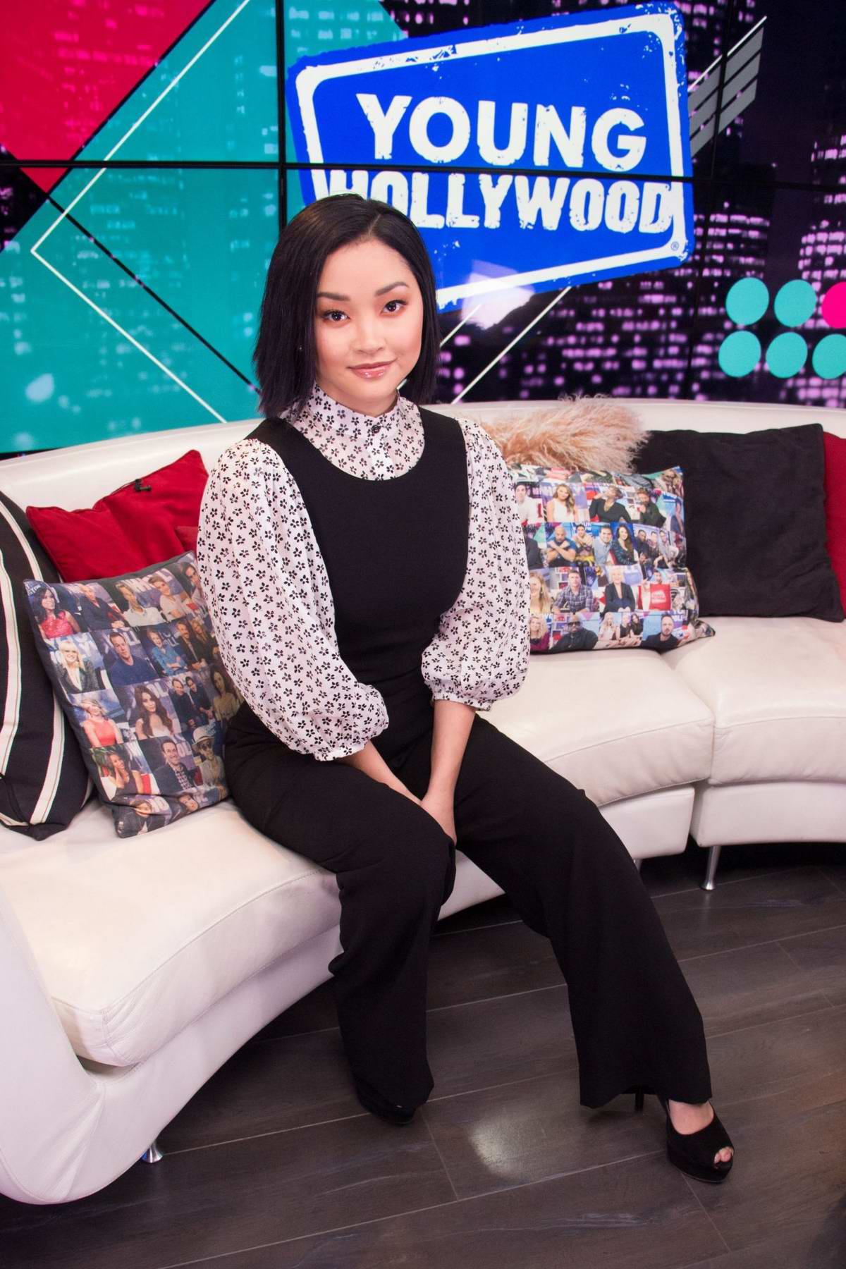 Lana Condor visits the 'Young Hollywood' Studio in Los Angeles