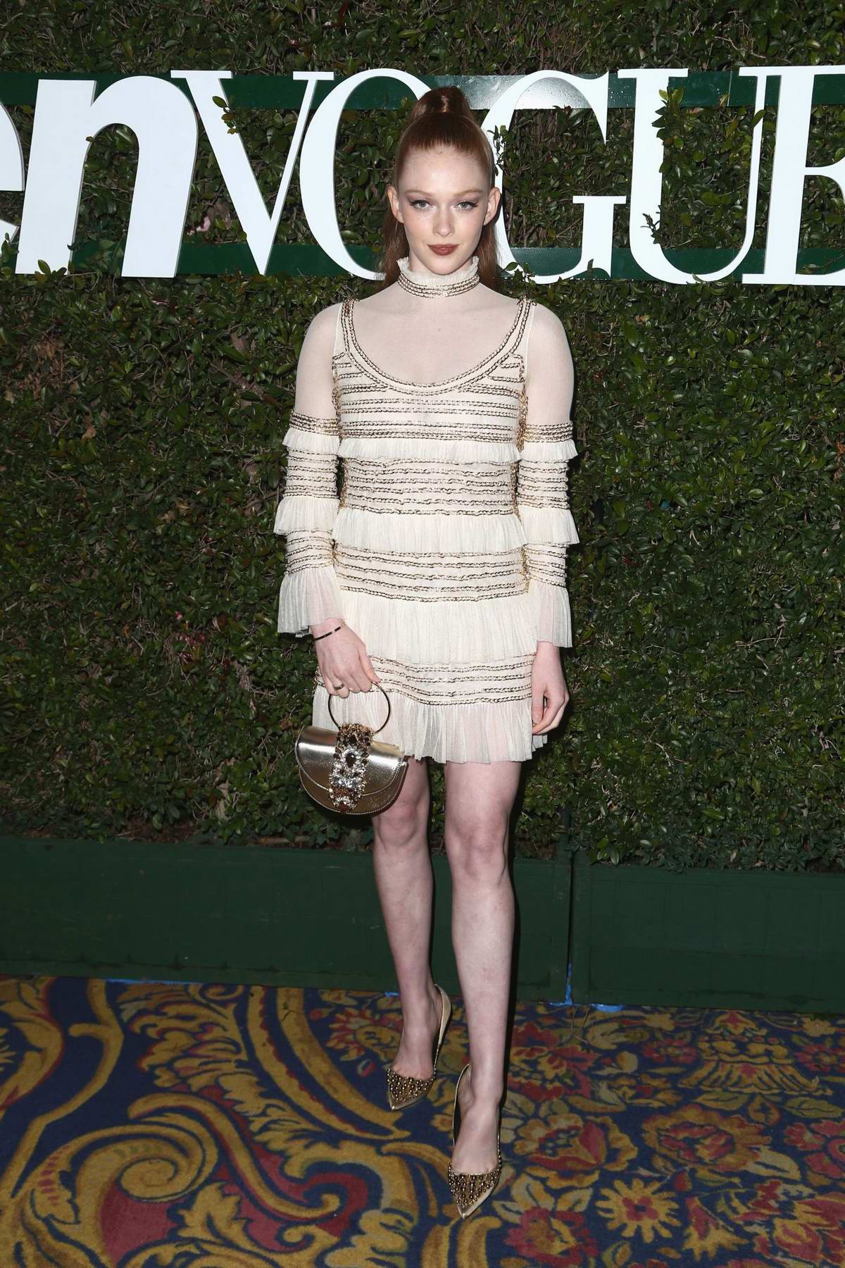 Larsen Thompson attends the Teen Vogue's 2019 Young Hollywood Party held at the LA Theatre in Los Angeles