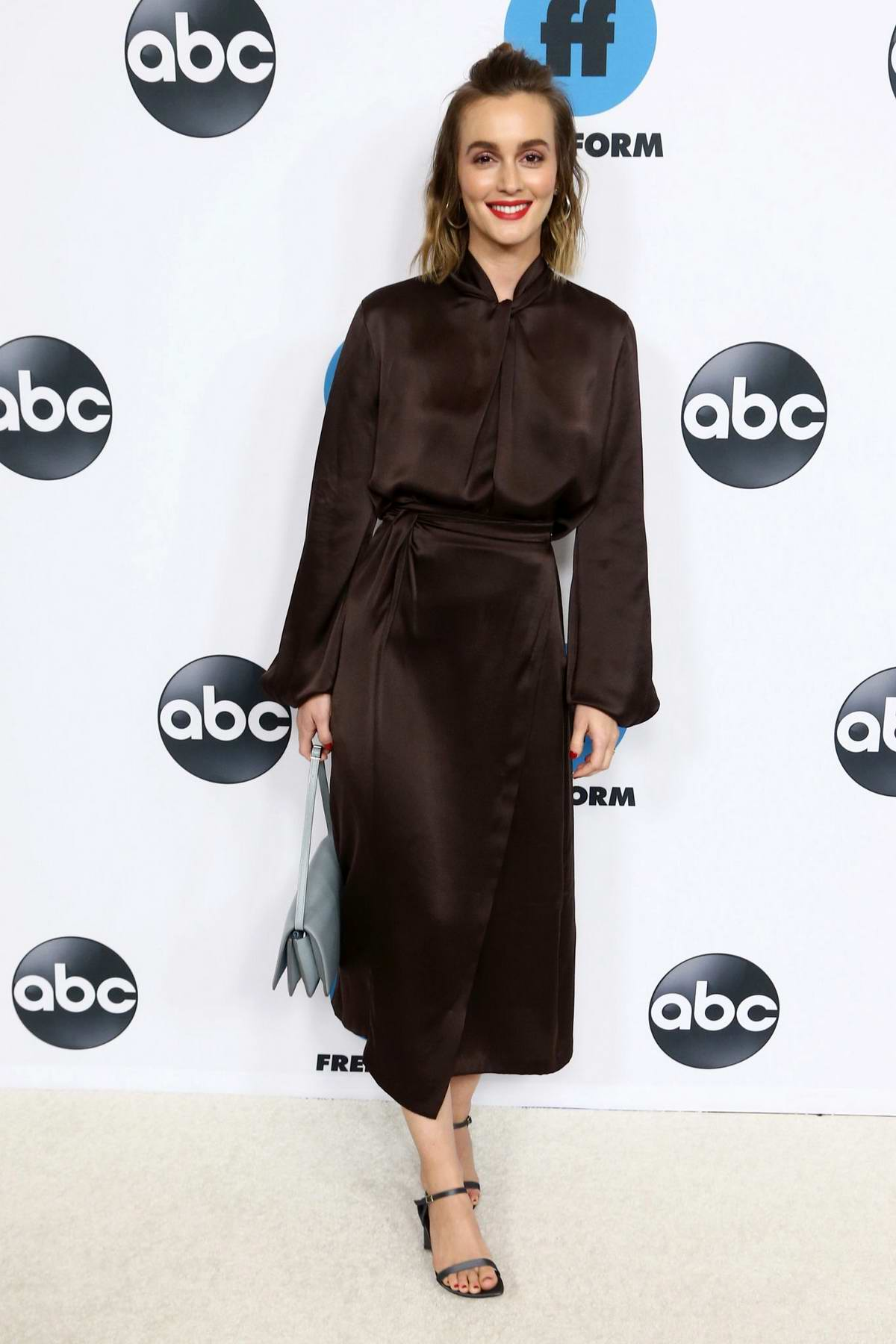 Leighton Meester attends the Freeform's TCA Winter Press Tour in Los Angeles