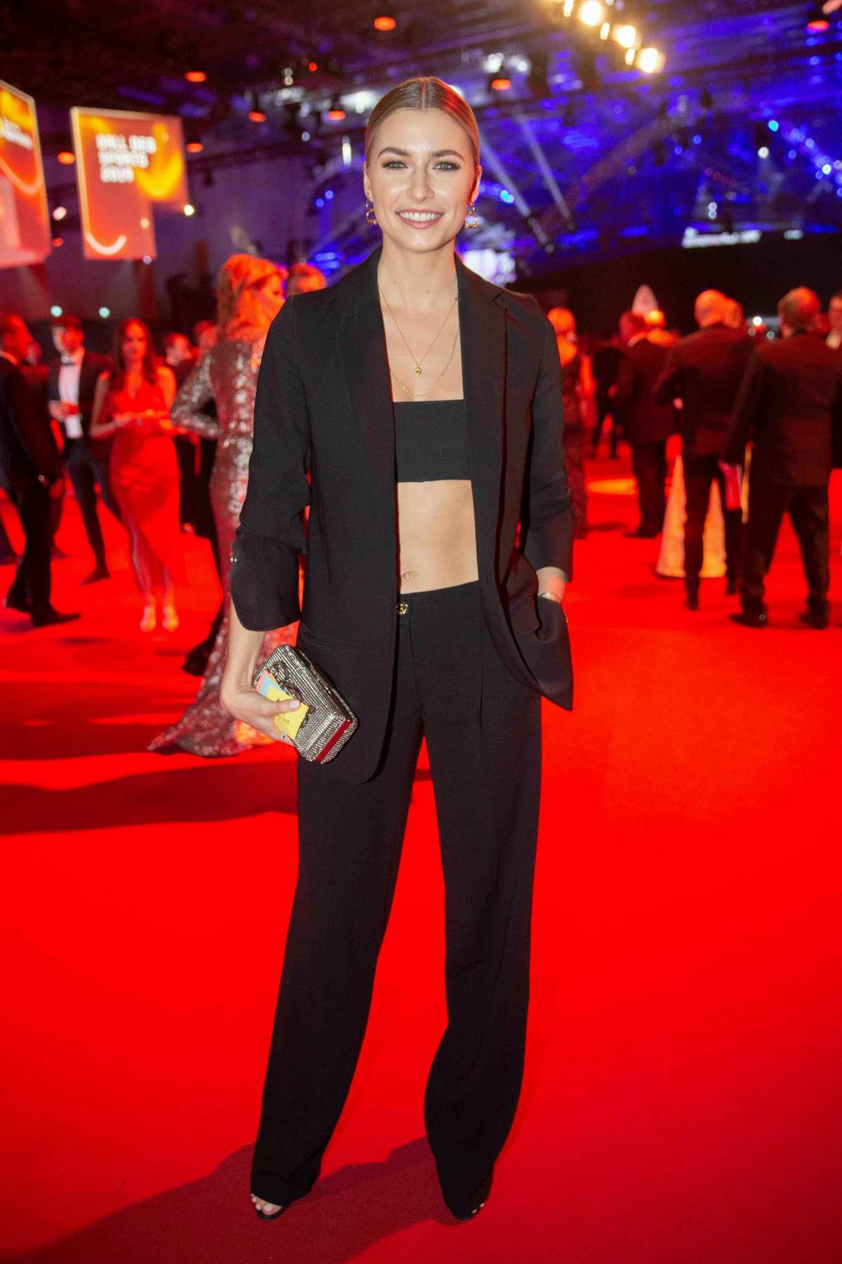 Lena Gercke Attends The Ball Des Sports In Wiesbaden