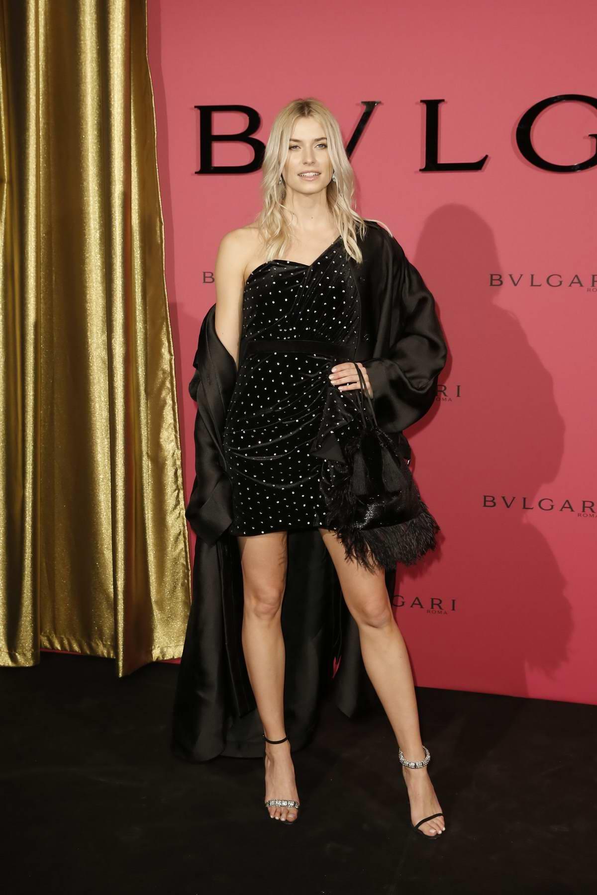Lena Gercke attends the Bulgari Party during 69th Berlinale International Film Festival in Berlin, Germany
