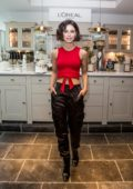 Lena Meyer-Landrut at the L'Oreal Cafe during the 69th Berlinale International Film Festival in Berlin, Germany