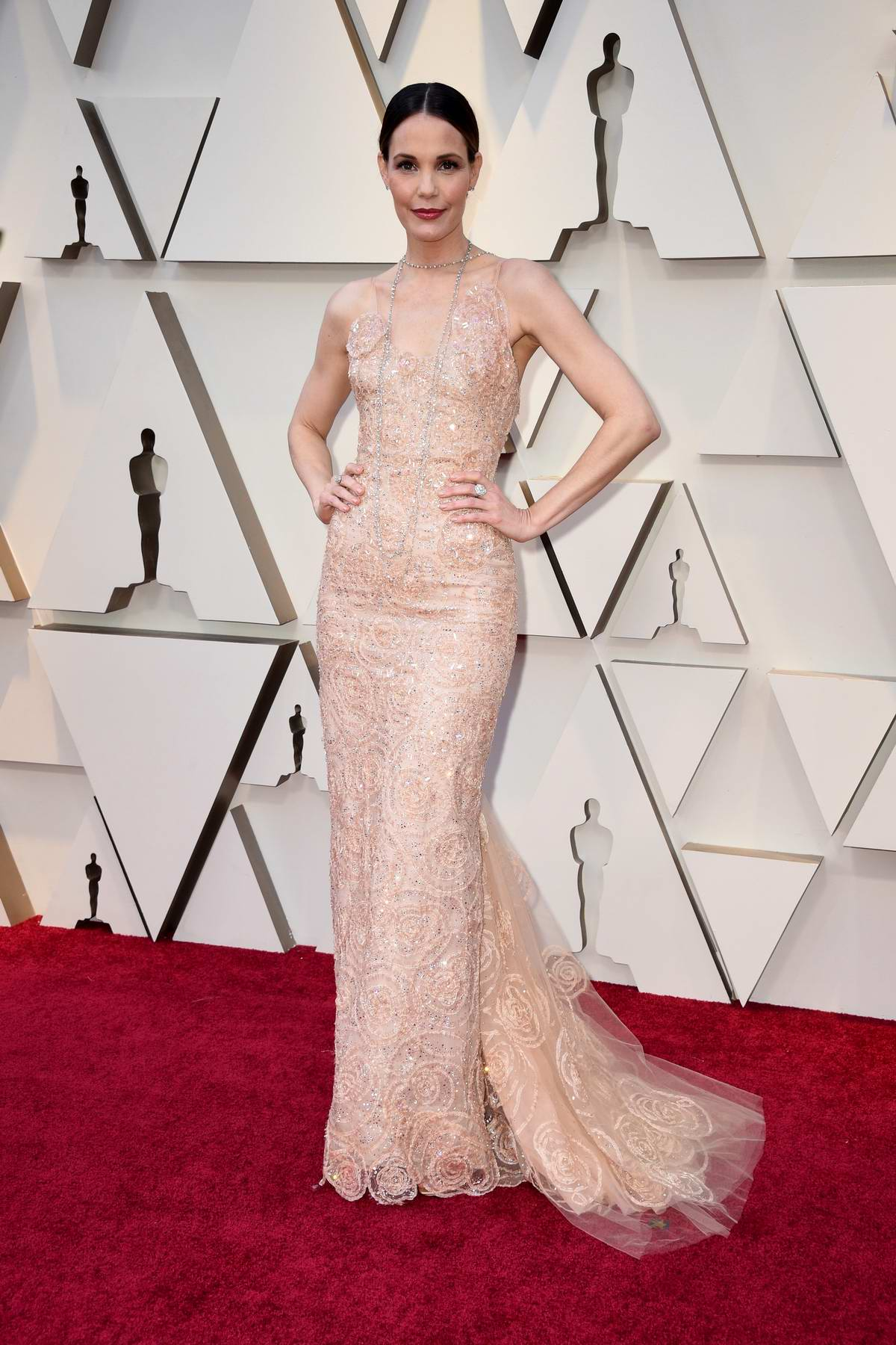 Leslie Bibb attends the 91st Annual Academy Awards (Oscars 2019) held at the Dolby Theatre in Hollywood, California