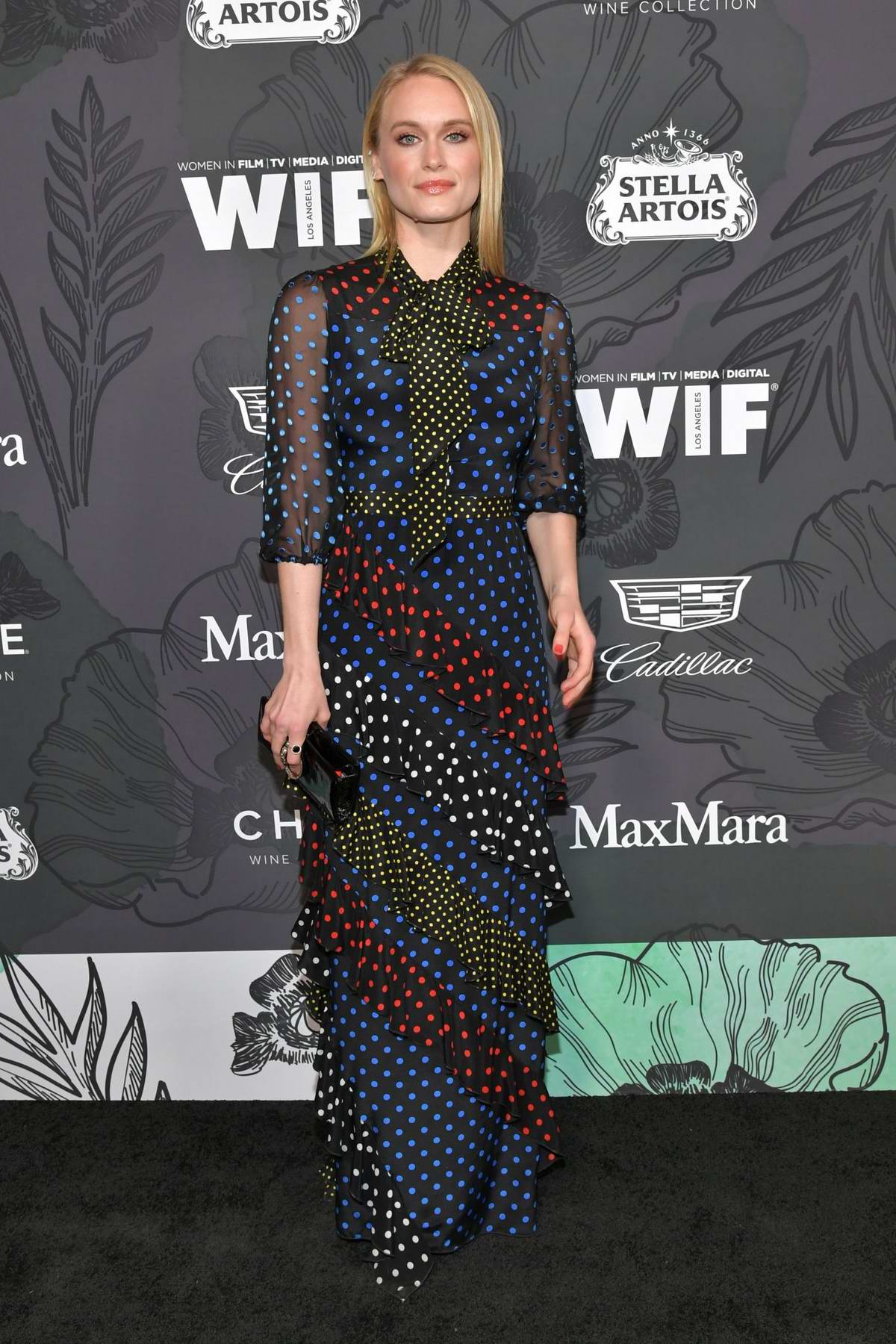 Leven Rambin attends the 12th Annual Women In Film Oscar Party in Beverly Hills, Los Angeles