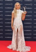 Lindsey Vonn attends the 2019 Laureus World Sports Awards in Monaco
