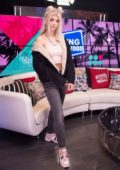 Loren Gray visits the Young Hollywood Studio in Los Angeles