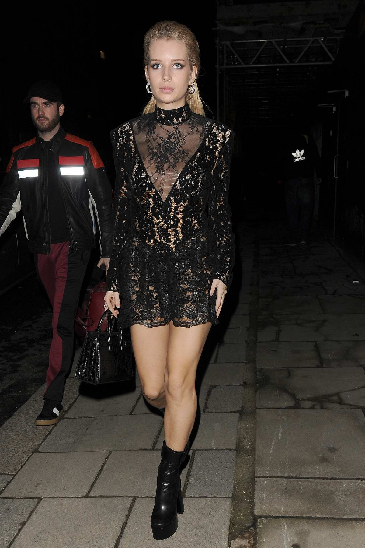 Lottie Moss arrives at the Love Magazine party in London, UK