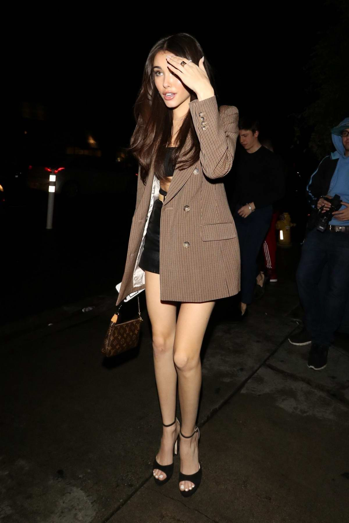 Madison Beer spotted outside Poppy Nightclub in West Hollywood, Los Angeles