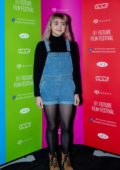 Maisie Williams attends the BFI Future Film Festival at BFI Southbank in London, UK