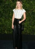 Margot Robbie attends the Charles Finch and Chanel Pre-Oscar Awards Dinner 2019 at Polo Lounge in Los Angeles