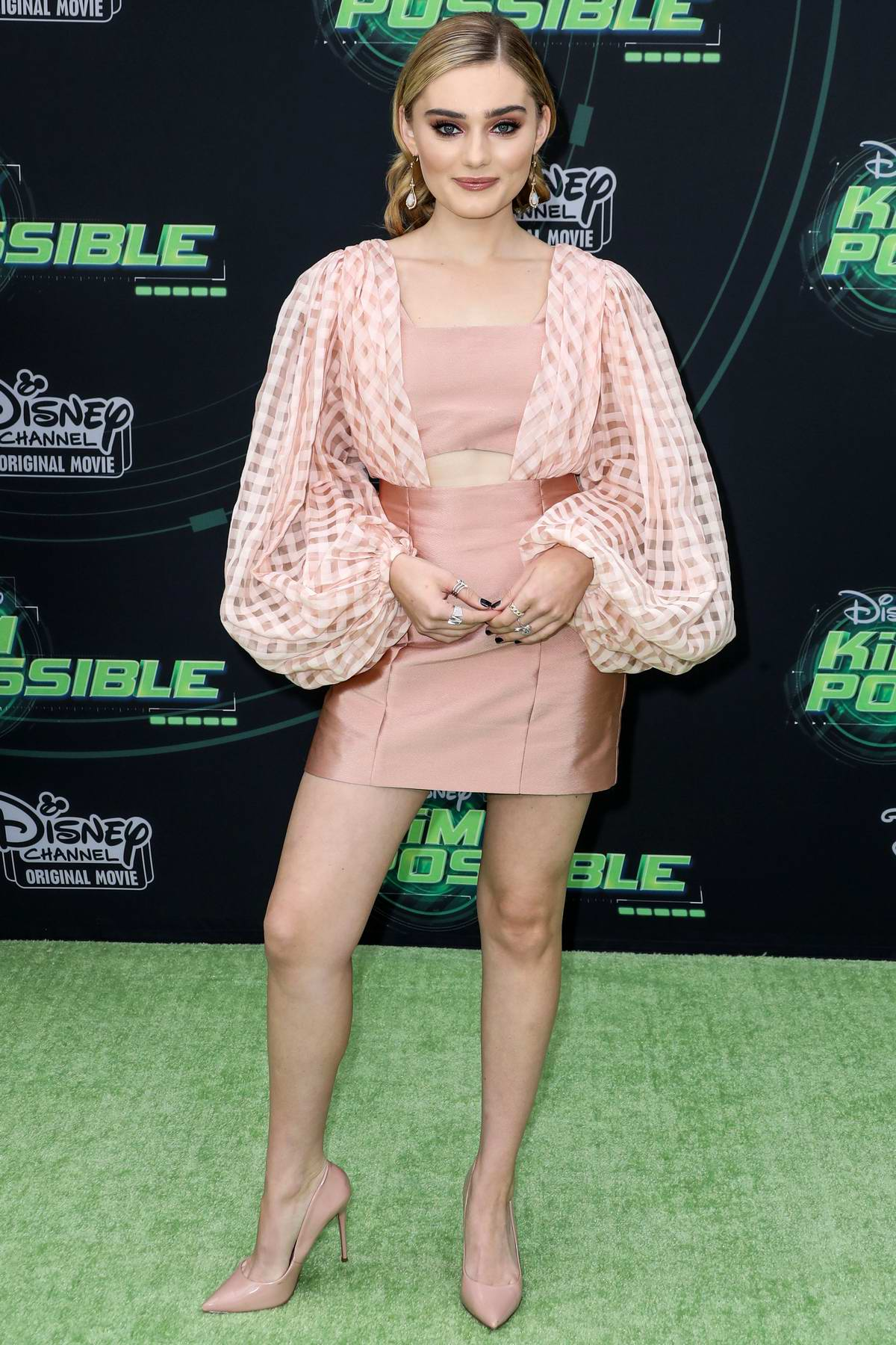 Meg Donnelly attends 'Kim Possible' Film Premiere in Los Angeles